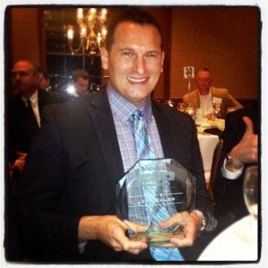 Jeff Sauer wins CIO of the Year