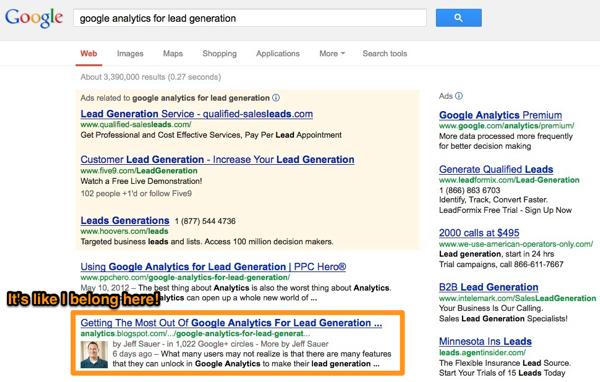 Google Authorship Achieved