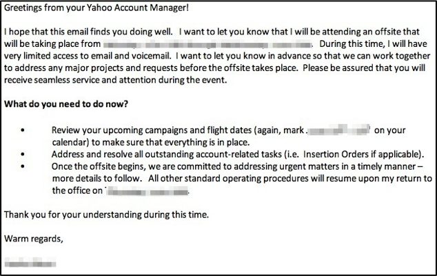 Yahoo Account Manager