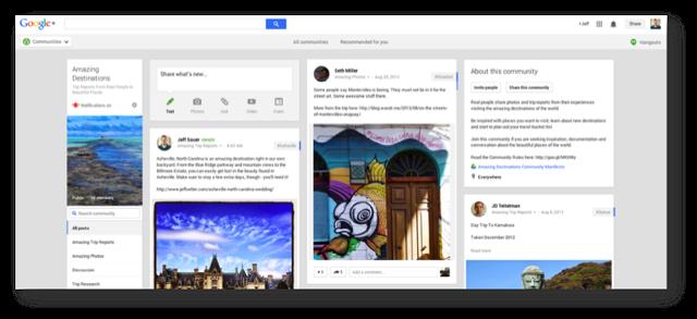Amazing Destinations Google Plus Community
