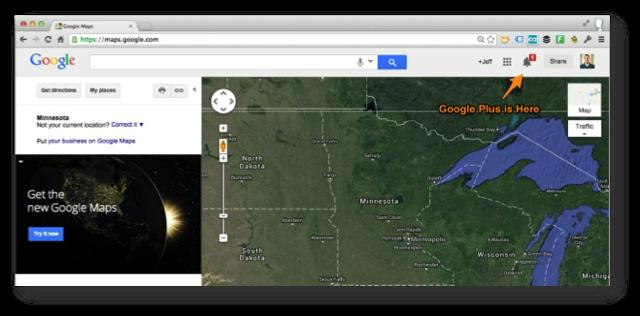 Google Maps Google Plus