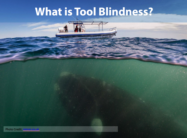 Tool Blindness