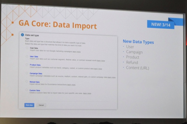 Data Import Improvements