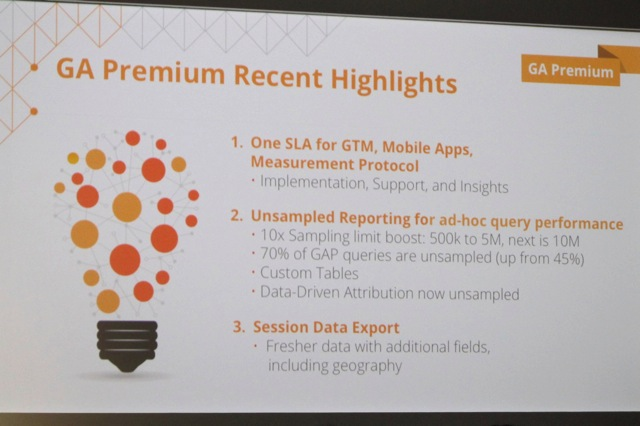 GA Premium Recent Highlights