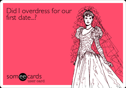 Overdress First Date