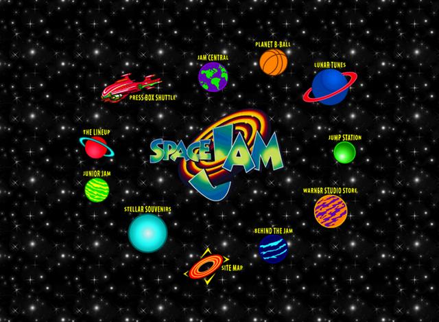Space Jam Site