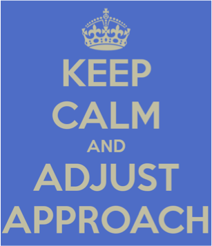 Keep Calm Adjust Approach