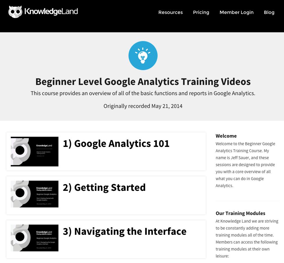 Knowledge Land Video
