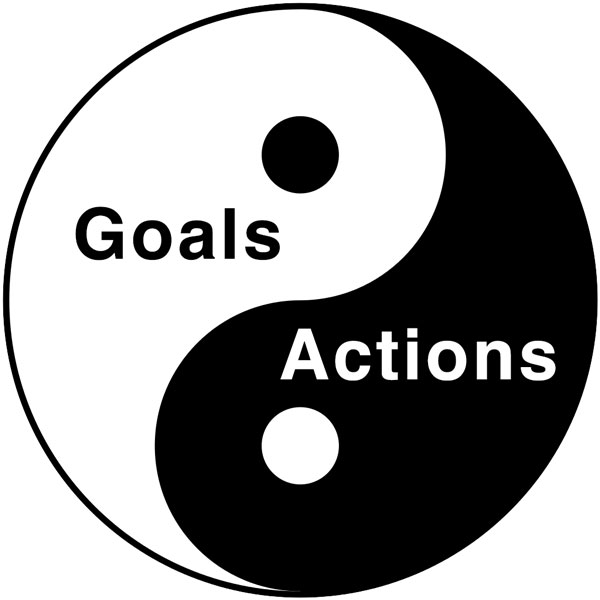 Goals Actions Yin Yang
