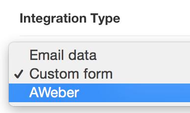 Integration Type