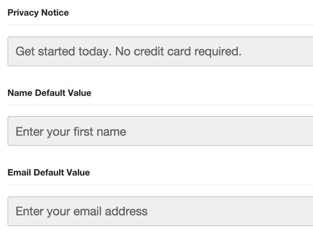 Labels for Default Fields