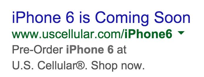 iPhone 6 Coming Soon