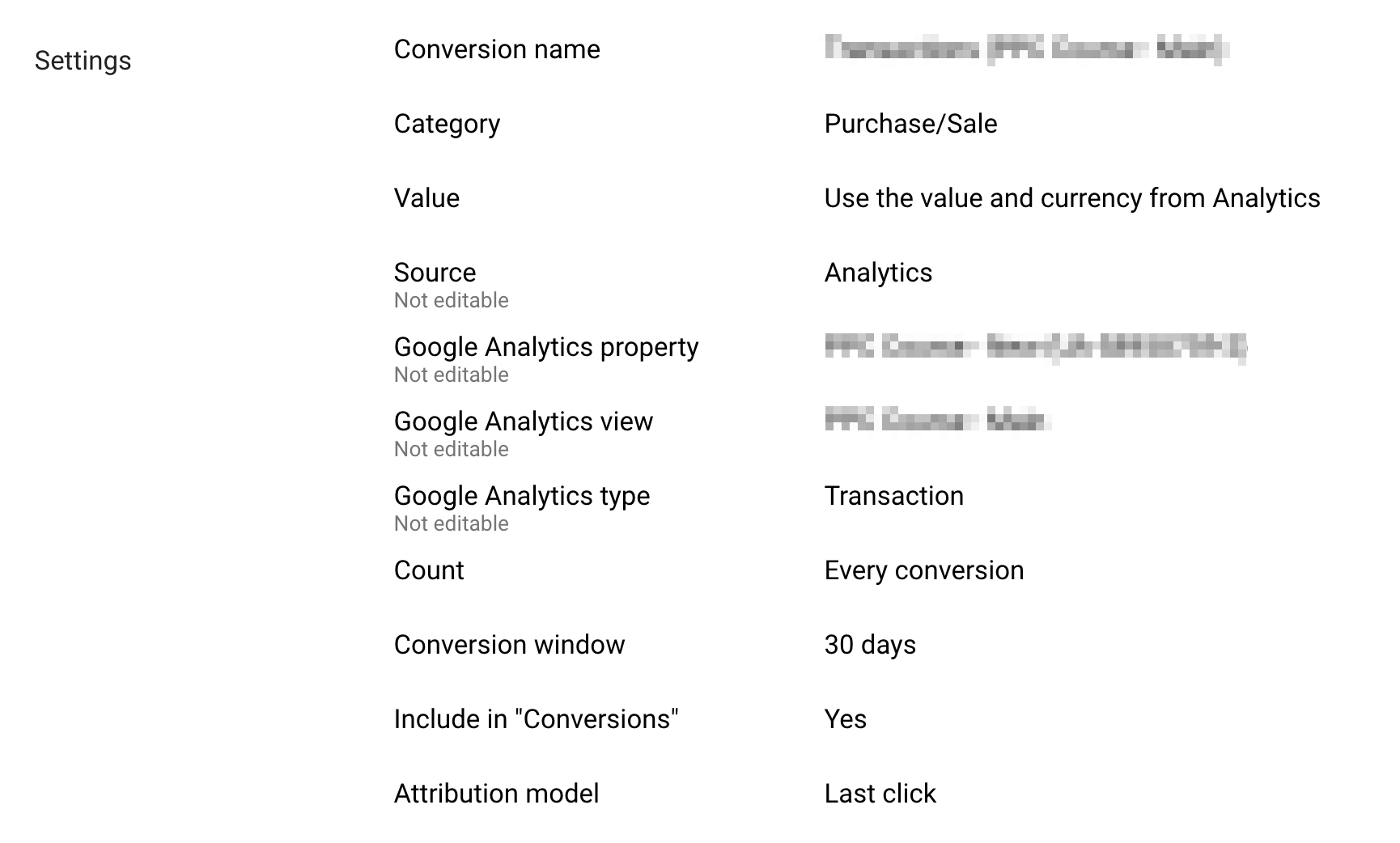 Conversions in Google Ads