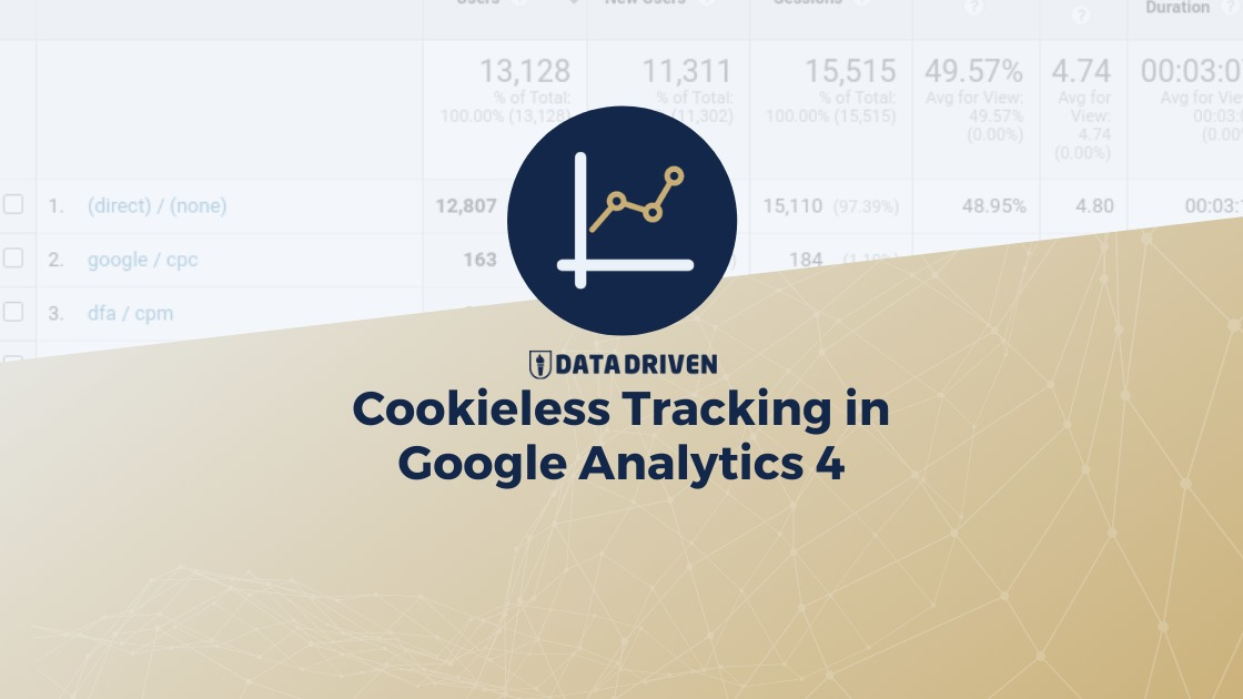 How Does Cookie-Less Tracking Work in Google Analytics 4