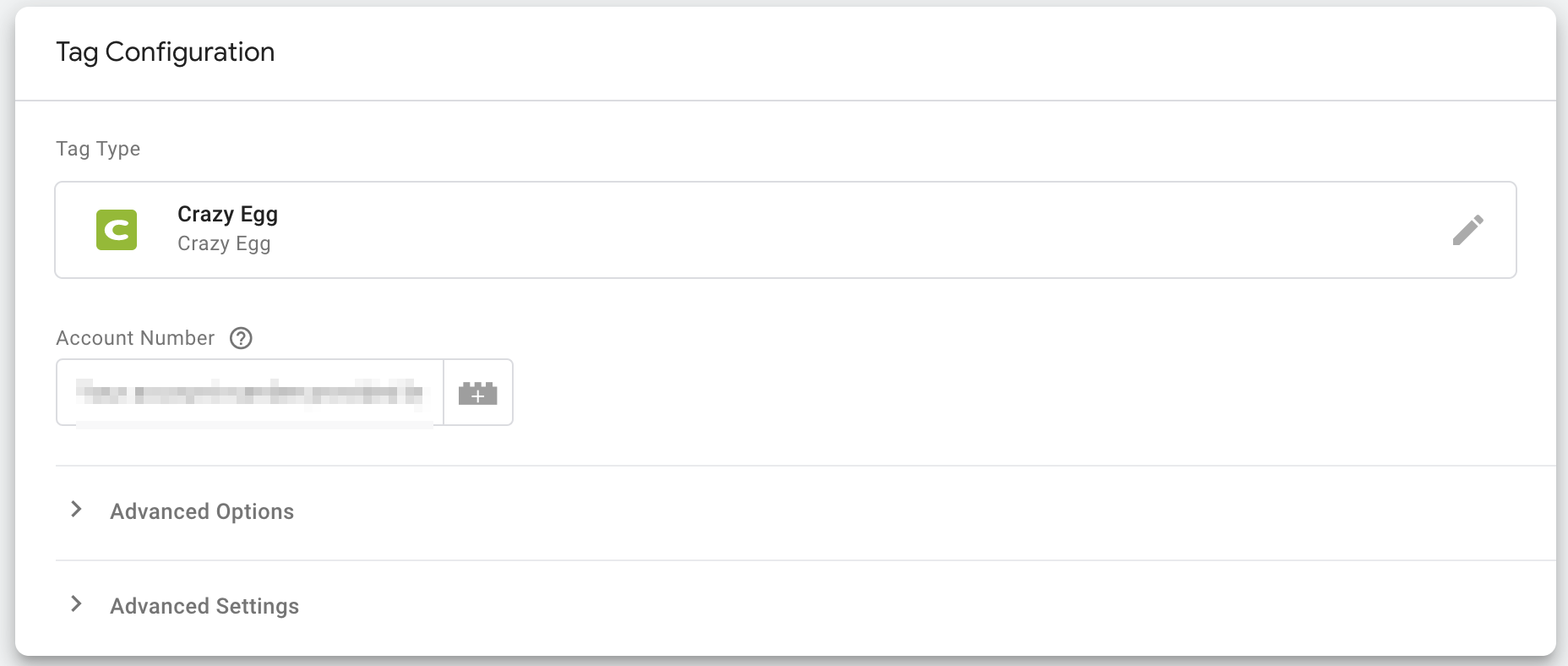 Crazy Egg Tag in Google Tag Manager