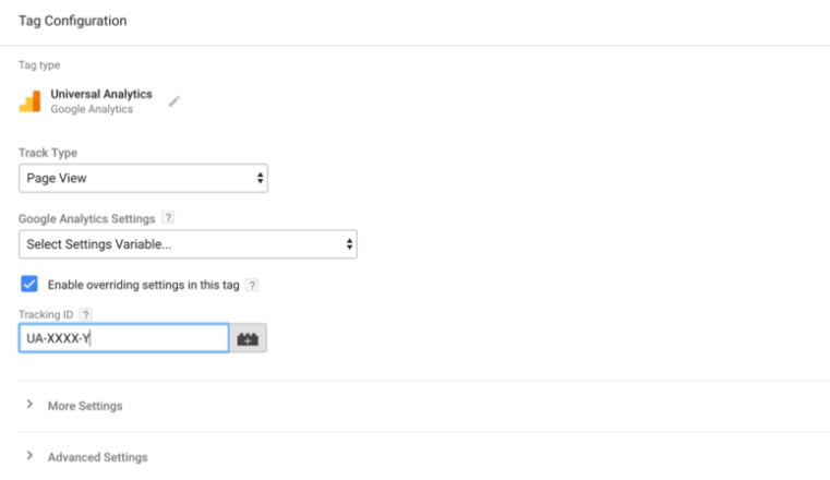 Google Tag Manager Tutorial - Google Analytics tag template