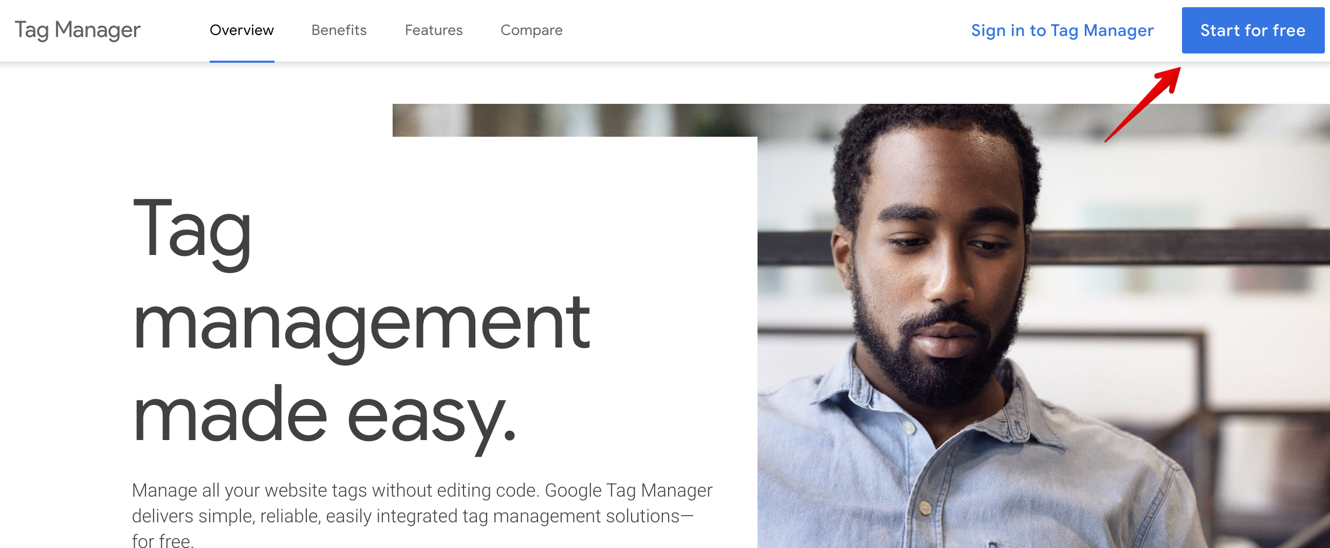 Create a Tag Manager Account