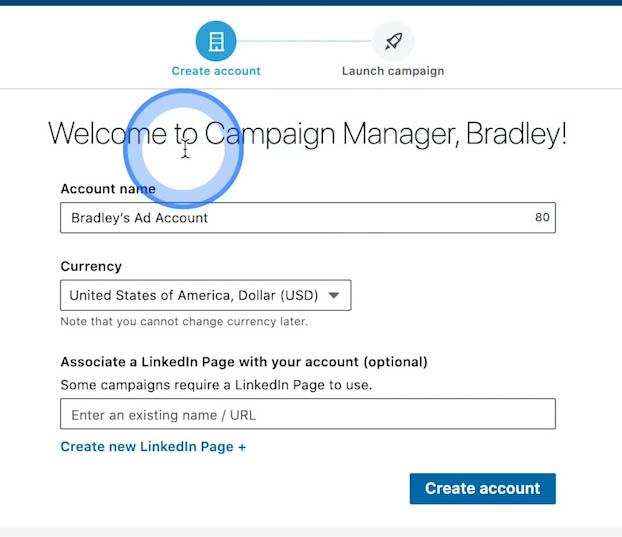 Set Up LinkedIn Campaign Manager
