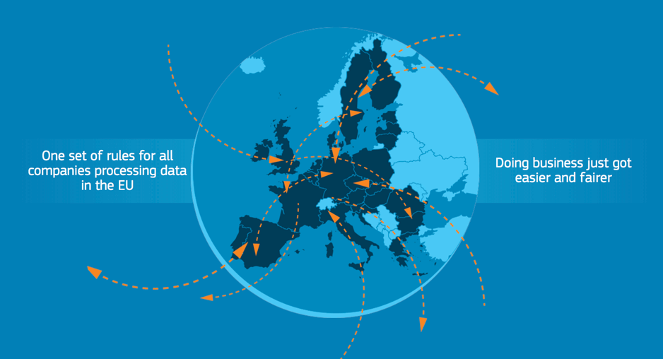 GDPR country map