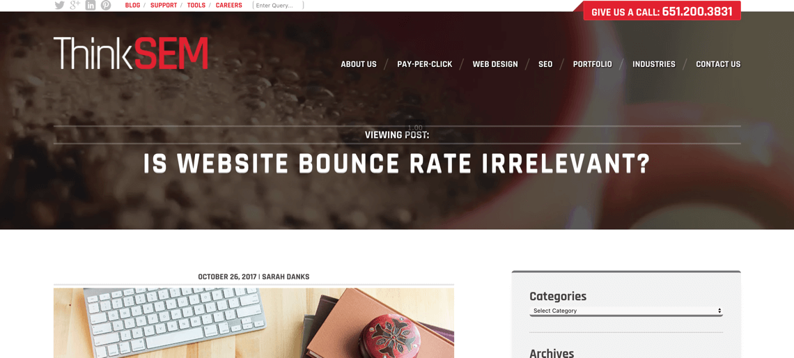 why bounce rate is irrelevant
