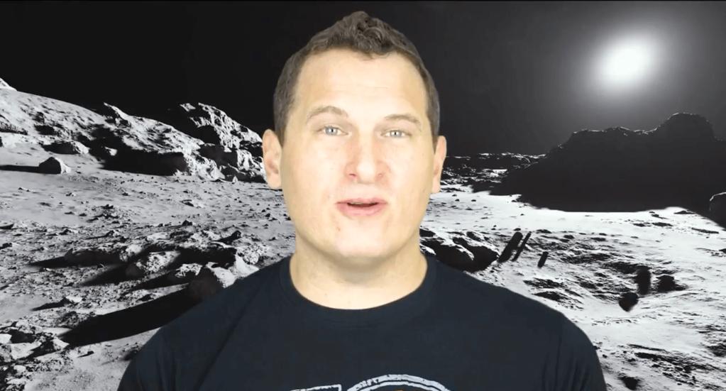 video editing process - green screen back drops