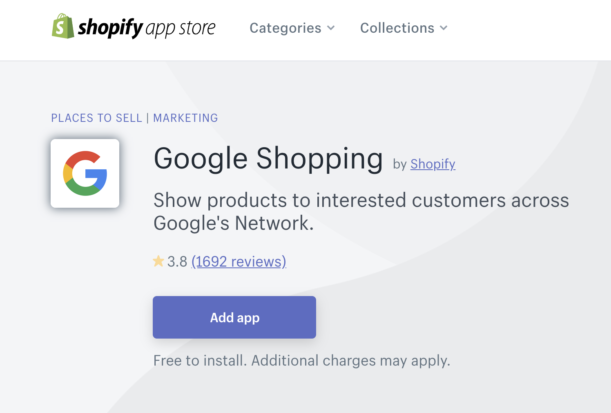 Product Feed App for Shopify