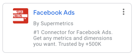 Supermetric for Facebook Ads