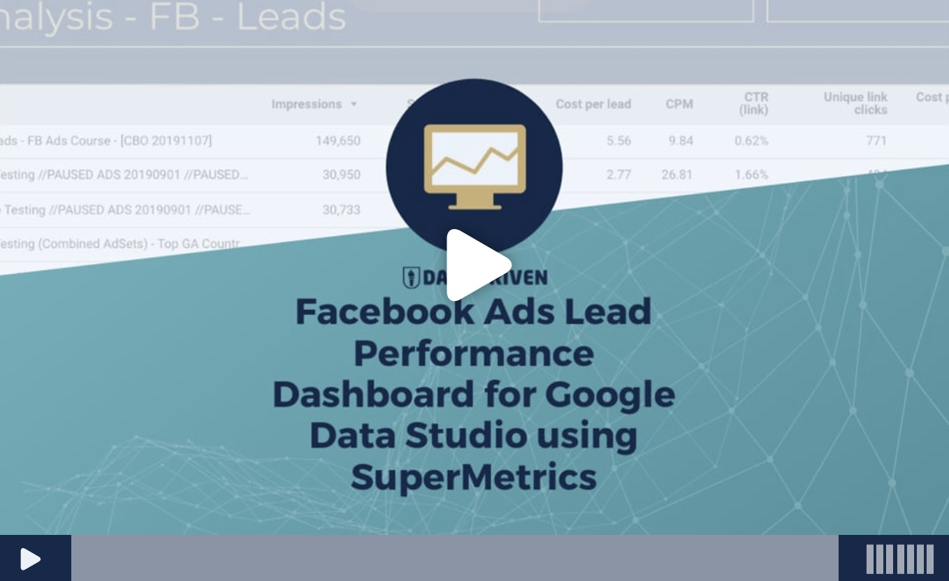 Leads Dashboard Video