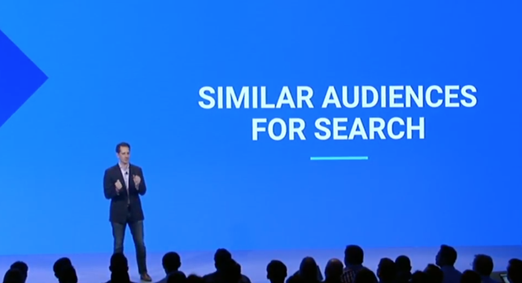 Similar Audiences for Search