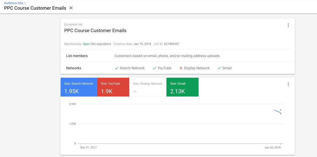 customer match results