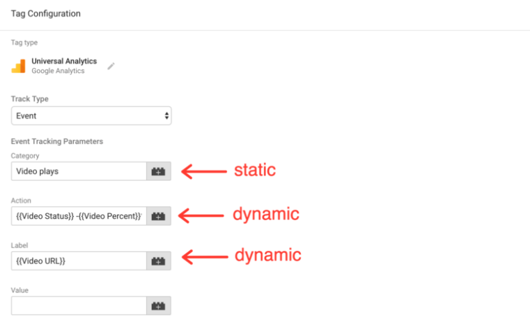 Google Tag Manager Tutorial - Video view variables
